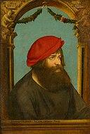 Ambrosius Holbein - Bildnis des Hans Herbst (Herbster), 1516.jpg