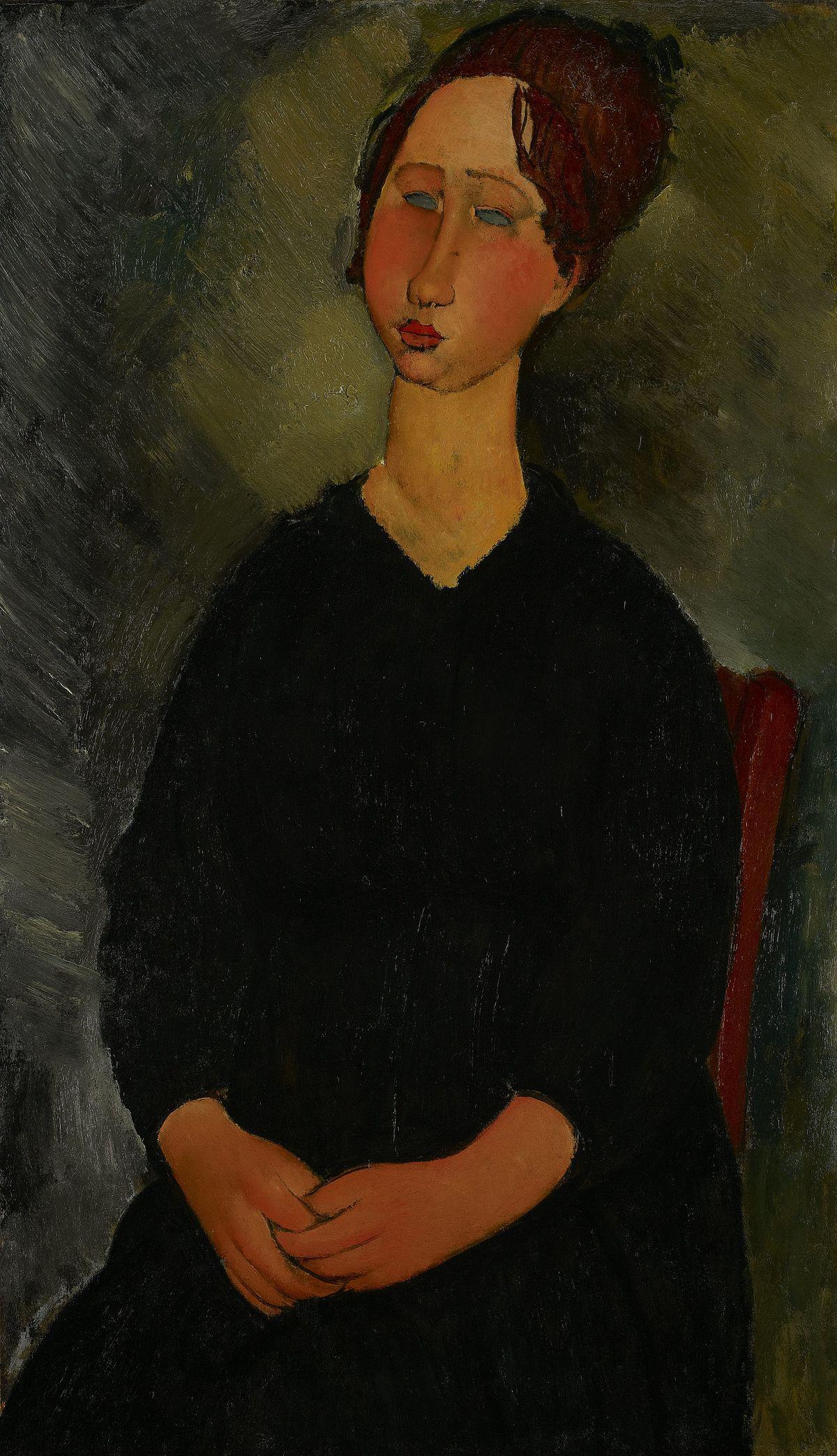 File:Amedeo Modigliani - Little Servant Girl - 59.30 - Minneapolis  Institute of Arts.jpg - Wikimedia Commons