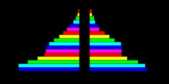 Demographics of American Samoa - American Samoa's population pyramid.