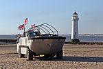 Amphibious truck, New Brighton (geograph 4548196).jpg