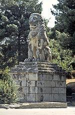 Το λιοντάρι της αμφίπολης