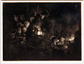 Amsterdam - Rijksmuseum - Late Rembrandt Exposition 2015 - The Adoration of the Shepherds - a Night Piece c.1652 D.jpg