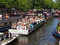 Amsterdam Gay Pride 2013 Are you ready for the gay future boat pic1.JPG