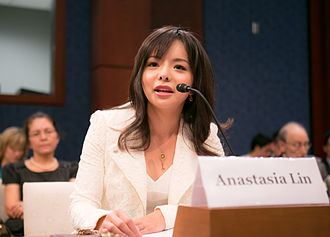 Anastasia Lin - Lin testifying before the United States Congress