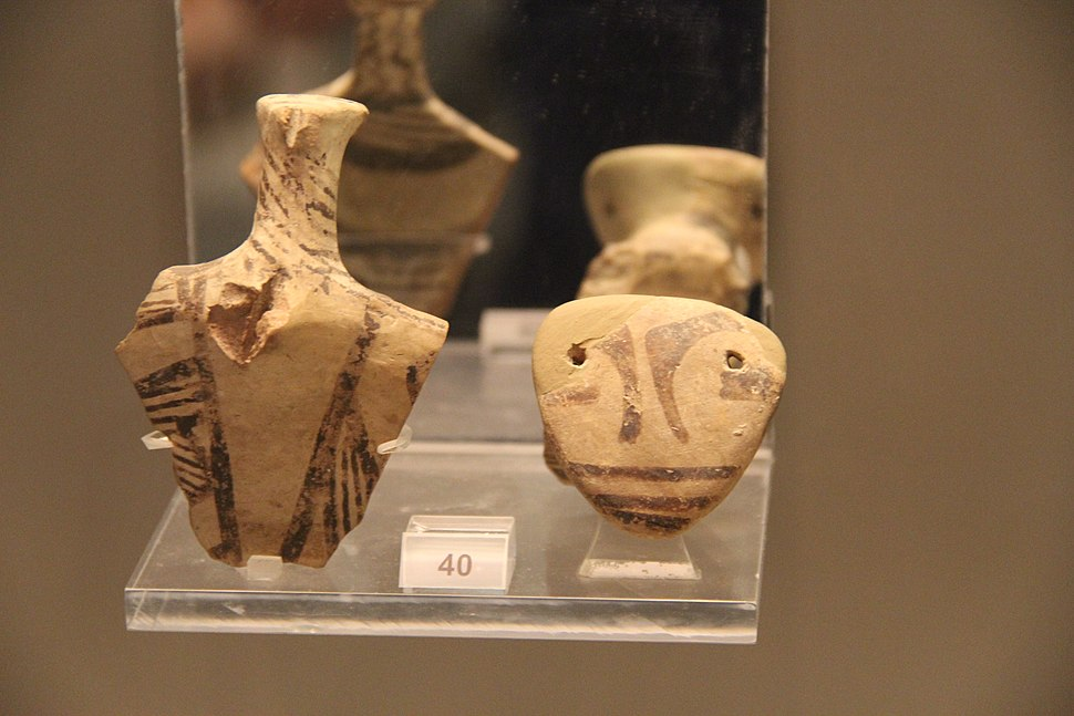 Ancient Greece Neolithic Clay Figurines, 6500-3300 BC