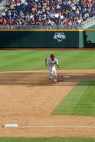 Brian Anderson (third baseman) - Anderson at the 2012 College World Series
