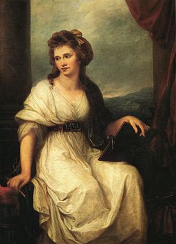 Angelica Kauffmann Self Portrait as the Muse of Painting