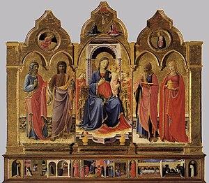 Cortona Triptych - The Triptych