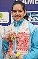 Anjum Moudgil of India won Gold Medal in Women's 50m Rifle Shooting, at the 12th South Asian Games-2016, in Guwahati on February 13, 2016.jpg
