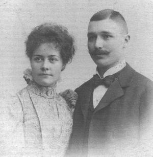 Anna Charlier - Anna Charlier and Nils Strindberg.