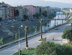 Chukurova - The Orontes River flowing through Antakya
