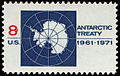 Antarctic Treaty 8c 1971 issue U.S. stamp.jpg