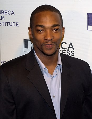 Italiano: Anthony Mackie at Tribeca Film Festi...