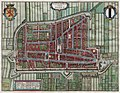Antique map of Delft, Netherlands by Blaeu J. 1649FXD.jpg