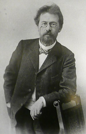Anton Chekhov 1901, photo taken in the Chekhov...