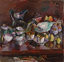 Still Life with Coffee Cups