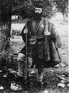 Antonios Zois Greek soldier