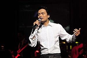 Anuar Zain - During the Lelaki Ini Concert at Istana Budaya, Kuala Lumpur
