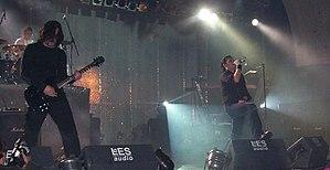 Apoptygma Berzerk discography - Apoptygma Berzerk performing in Leipzig in 2004