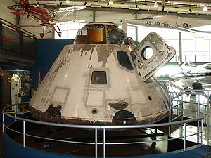 Frontiers of Flight Museum - Image: Appolo 7 07a