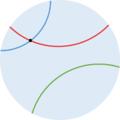 Approche intuitive de la géométrie non euclidienne proposée par Poincaré.png