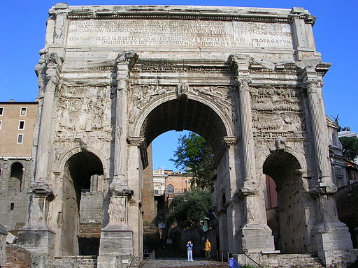 Arch of Septimus Severus East