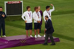 Archery at the 2012 Summer Olympics – Mens Team - South Korea.jpg