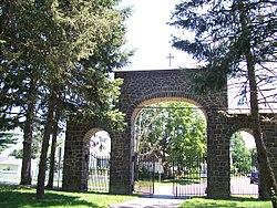 Entrance to St. Joseph's Industrial School