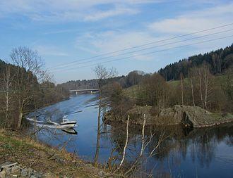 Arendal - River Nidelva in Arendal