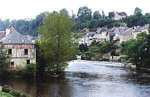 Creuse (river) - La Creuse in Argenton-sur-Creuse