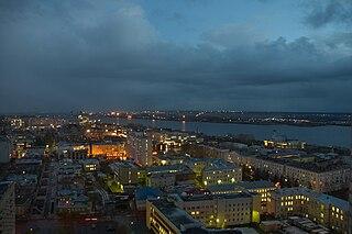 City in Arkhangelsk Oblast, Russia