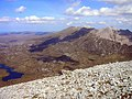 Arkle's 787m (2582ft) Summit Looking N to Foinaven - geograph.org.uk - 1082453.jpg