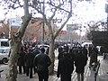 Armenian Presidential Elections 2008 Protest Day 1 - Matenadaran southwest.jpg