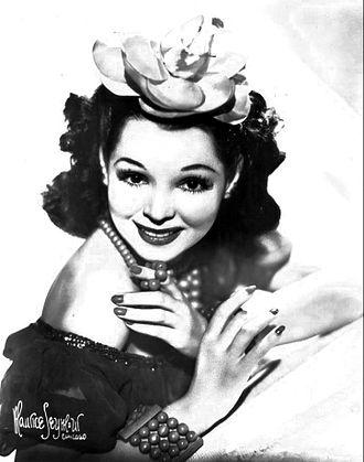 Armida (actress) - Vendrell in 1949.