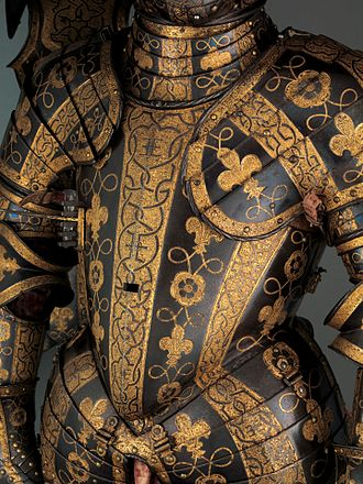 George Clifford, 3rd Earl of Cumberland - Sir George Clifford's tournament armour, Metropolitan Museum of Art, New York