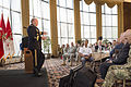 Army Gen. Martin E. Dempsey, chairman of the Joint Chiefs of Staff, speaks to senior Army leaders attending the 2015 Army Profession Strategic Stewardship symposium held at the U.S. Military Academy in West Poi 150727-D-HU462-054.jpg