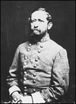 1st Maryland Infantry, CSA - Arnold Elzey, colonel of the regiment, promoted by President Jefferson Davis to brigadier general after the First Battle of Manassas.