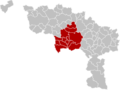 Arrondissement Mons Belgium Map.png