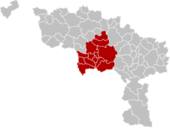 Arrondissement Mons Belgium Map.png