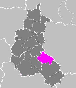 Arrondissement of Saint-Dizier - Image: Arrondissement de Saint Dizier
