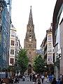 Artzain Onaren Katedrala, San Martin Kalea, Donostia-San Sebastián, Basque Country, Espanha - panoramio.jpg