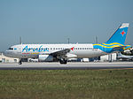 Aruba Airlines Airbus A320-232 (P4-AAD) at Miami International Airport.jpg