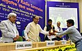 """Arun Jaitley presented the National Community Radio Awards, at the 6th National Community Radio Sammelan, on the theme """"Community Radio in India Towards Diversity and Sustainability"""", in New Delhi (1).jpg"""