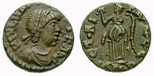 Majorian - As coin of Majorian.