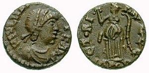 Majorian - As coin of Majorian.