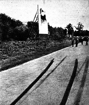 The site of the Ascari's fatal accident Ascari curva monza.jpg