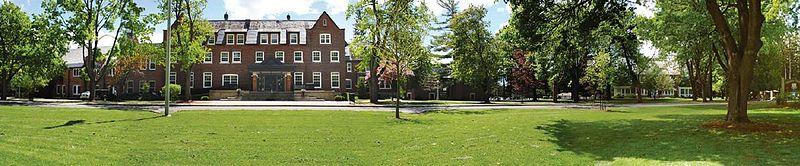 Main Entrance of the Ashbury College Campus; Ottawa, Ontario.