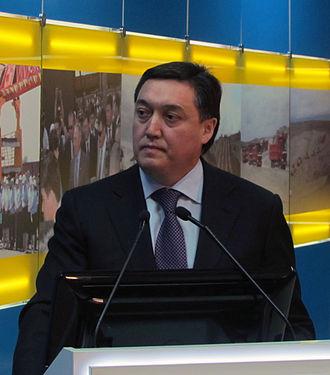 Prime Minister of Kazakhstan - Image: Askar Mamin (cropped)