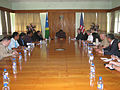 Assistant Secretary Campbell Addresses Solomon Islands Prime Minister Danny Philip and his Cabinet (5886552156).jpg