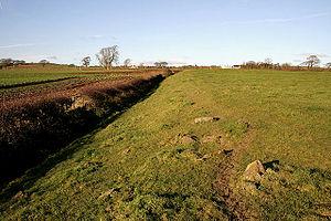Blatobulgium - Western edge of the fort